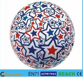 China Light Up Inflatable Beach Balls,PVC 16 Inch Beach Ball With Lively Printing supplier