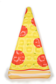 China 6 Feet Inflatable Pizza Slice Float, Easy Inflating Mattress For Summer Time supplier