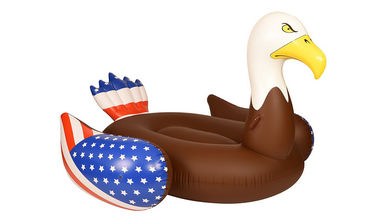 China PVC Bald Eagle Inflatable Pool Floats Rafts&Pool Toys Swim Pool Entertainment supplier