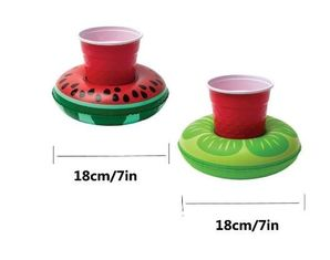 China Fruit Shaped Inflatable Drink Holder Logo Printed CE Certificated OEM Toys supplier