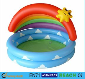 China Cartoon Design Children ' S Inflatable Pool,Baby Swimming Pool Tub Summer Toys supplier