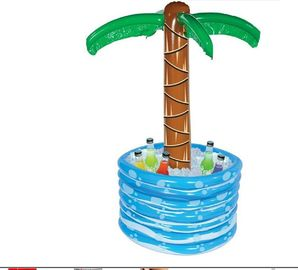 China 48 Inch PVC Inflatable Palm Tree Cooler  Inflatable Drinks Cooler Tray 0.25mm supplier