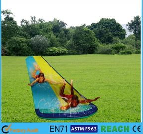 China Smooth Sliding Extra Long Slip N Slide , Blow Up Slip And Slide OEM For Adults supplier