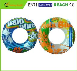 China Light Weight Swimming Pool Rings Eco Friendly PVC Material For Kids Playing supplier