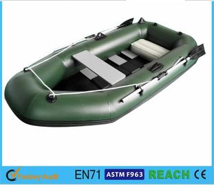 China Challenger 3 Inflatable Float Boat Durable Plastic Raft Boat With Pump And Oars supplier
