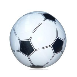 China Soccer / Basketball Inflatable Beach Ball 16 Inch Tactile Stimulation Function supplier
