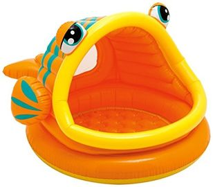 China Lazy Fish Baby Shade Inflatable Swimming Pool For kids 1 - 3 Years Old supplier