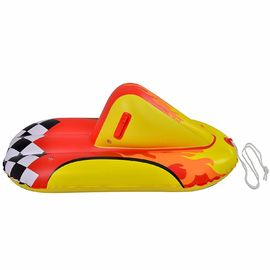 China Durable Inflatable Snow Sled Surfboard Outdoor Play Car Tube With Handles supplier