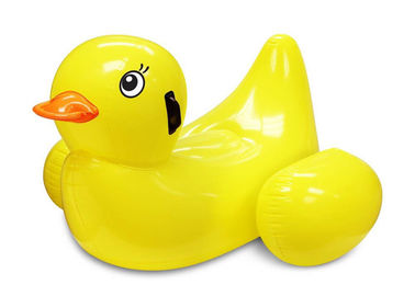 China Summer Party Inflatable Pool Toys For Toddlers Or Kids / Duck Pool Float supplier