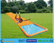 China Durable PVC Inflatable Water Slides Customised Size With Bumper Spray Action factory