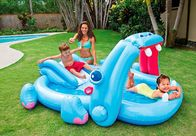 China Inflatable Swim Play Center Water Slide Hippo Pool Park For Toddlers factory