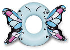 Customized Blue Butterfly Wings Pool Float , Adult Pool Tube With Patch Kit Included