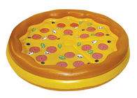 Giant Personal Inflatable Pizza Float / Swimming Pool Party Floating Blow Up Island