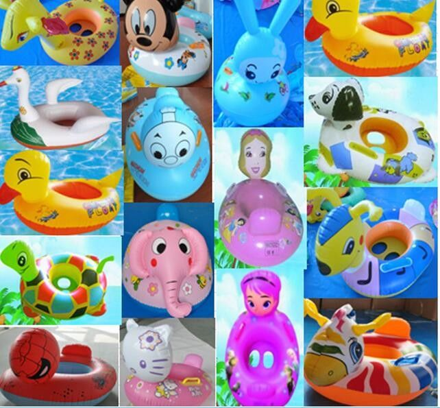 e5b1ae7982 Inflatable Pool Float Toy Infant Swim Ring Toddler Ring Baby Float ...