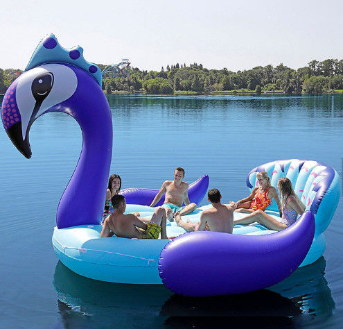 Big Pool Floats For Adults Peacock Outdoor Swimming Pool