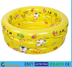 China Splendid Printed Inflatable Swimming Pool 0.2mm Thickness Material Swim Tube factory