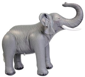 "China Soft And Lightweight PVC Advertising Elephant Inflatable Zoo Animals 30"" Tall distributor"