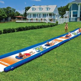 China PVC 18-2200 Mega Inflatable Water Slides Eco-friendly 25 Feet x 6 Feet distributor