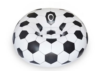 China OEM ODM Soccer Football Bean Bag / Indoor Or Outdoor Inflatable Chair distributor